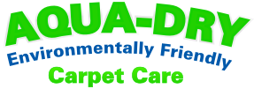 Aqua-Dry: Environmentally Friendly Carpet Care