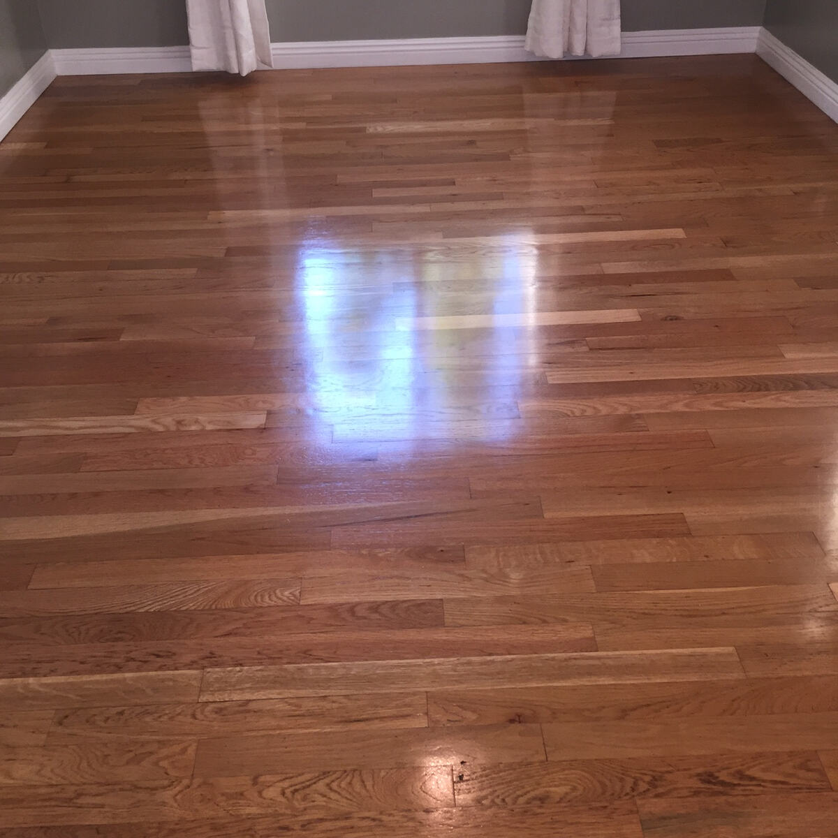 Wood Floor - After Cleaning by Aqua-Dry