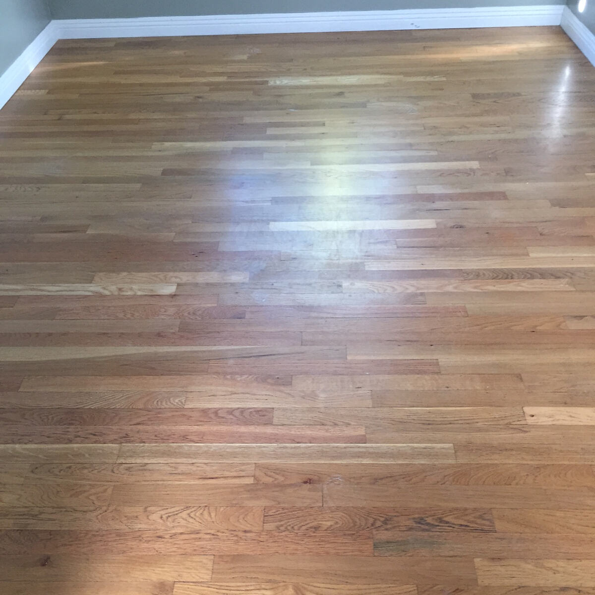 Wood Floor - Before Cleaning
