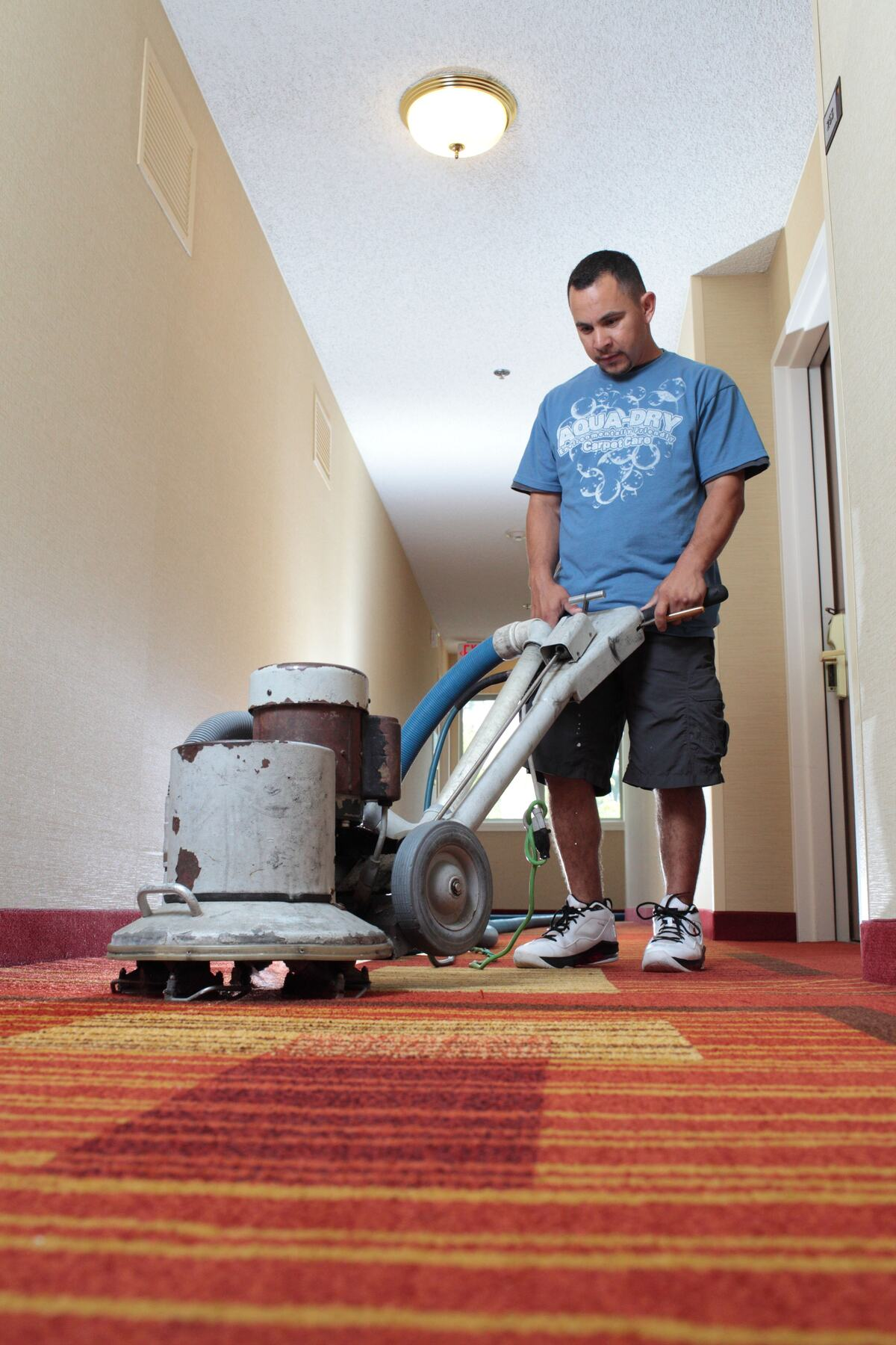 Professional Carpet Cleaning - Hotel