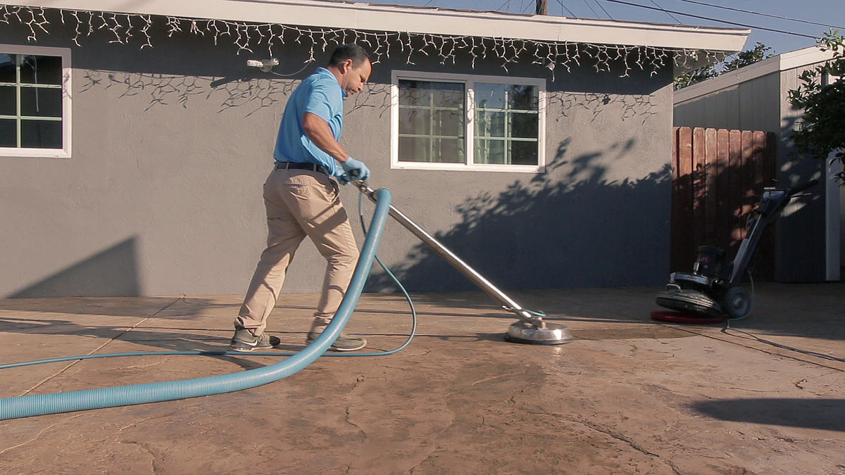 Outdoor Concrete Cleaning, Oxnard, CA